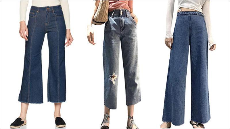 Jeans Culotte Hosen