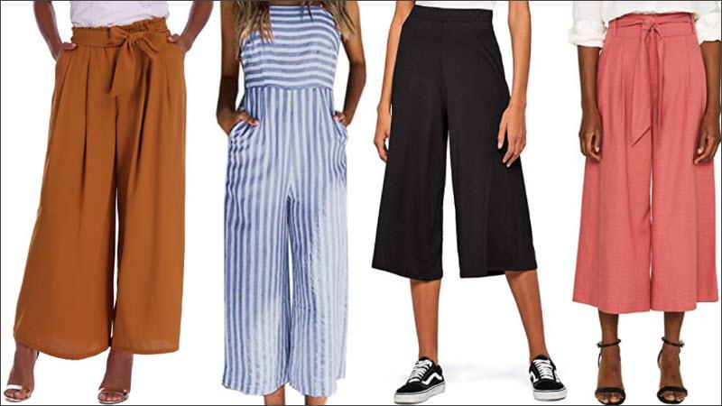 Culotte Hosen Varianten