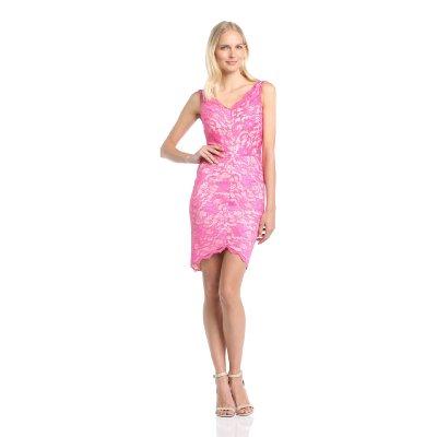 spitzenkleid rosa